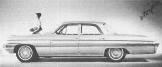 1962 OLDSMOBILE Series Super 88, V-8, 123