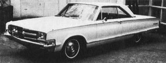 1965 CHRYSLER 300 Letter Series