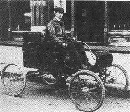 1901 OLDSMOBILE Curved Dash, 1-cyl.