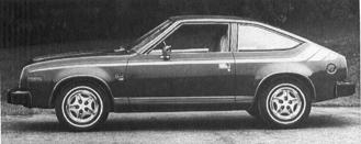 1982 AMC Spirit, 6-cyl.