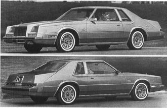 1982 CHRYSLER Imperial, V-8
