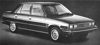 1984 AMC Alliance, 4-cyl.