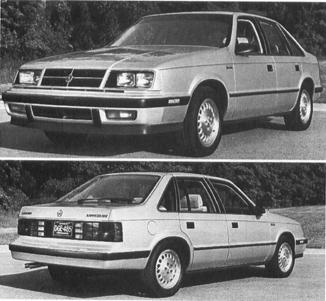 1985 Dodge Lancer Old Cars Weekly Reports