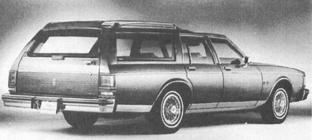1986 OLDSMOBILE Custom Cruiser, V-8