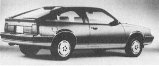 1986 OLDSMOBILE Firenza, 4-cyl.