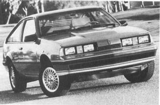 1987 OLDSMOBILE Firenza, 4-cyl.