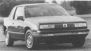 1988 OLDSMOBILE Cutlass Calais, 4-cyl.
