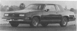1988 OLDSMOBILE Cutlass Supreme, V-6