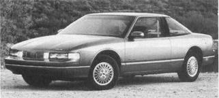 1989 OLDSMOBILE Cutlass Supreme, V-6