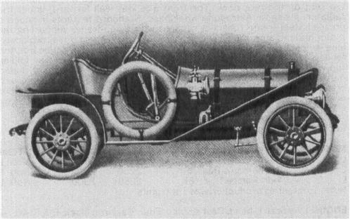 1907 OLDSMOBILE Model H, 4-cyl.