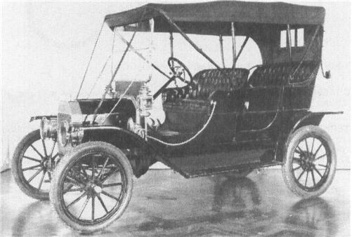 1909 FORD Model T, 4-cyl.
