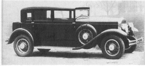 1929 FRANKLIN Model 135, 6-cyl., 60 hp, 125