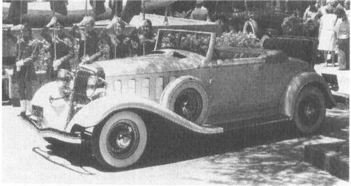1933 CHRYSLER Imperial Custom, Series CL, 8-cyl., 146