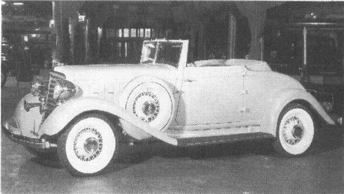 1933 CHRYSLER Royal Series CT, 8-cyl., 119.5