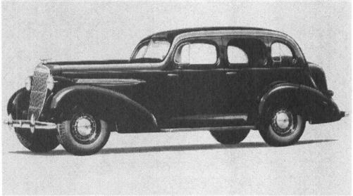 1935 OLDSMOBILE F-35, 6-cyl.