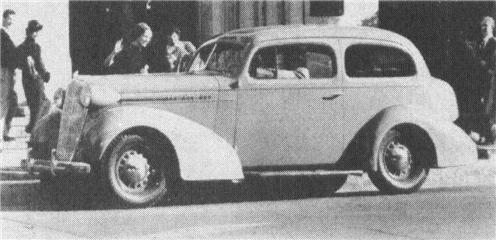 1936 OLDSMOBILE F-36, 6-cyl.