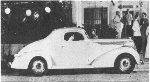 1937 STUDEBAKER Model 5A/6A, Dictator Six