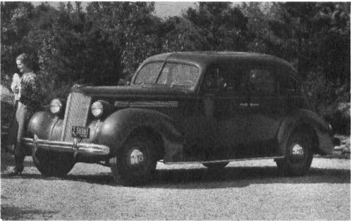 1938 PACKARD Model 1601, 8-cyl., 127
