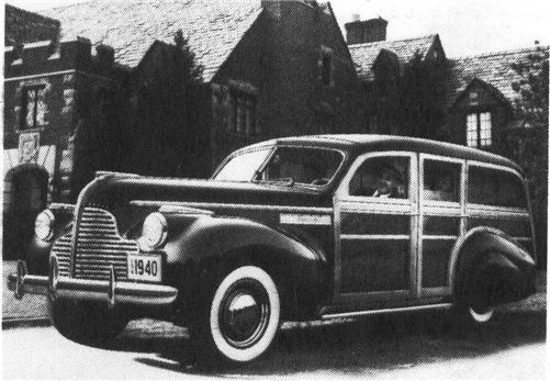 1940 BUICK Super Series 50, 8-cyl.