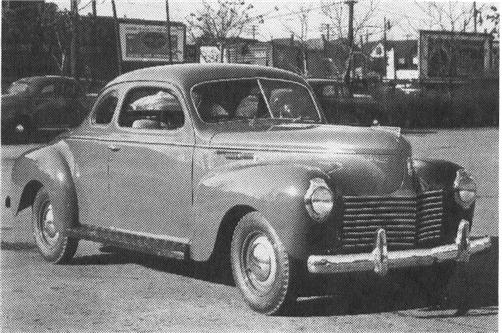 1940 CHRYSLER Royal, 6-cyl., 122.5