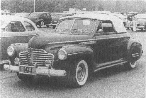 1941 BUICK Special Series 40-A, 8-cyl.