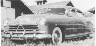 1950 HUDSON Commodore Series 502, 6-cyl., 124