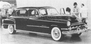 1954 CHRYSLER Crown Imperial, V-8, 145.5