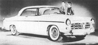 1955 CHRYSLER 300 Series, V-8, 126